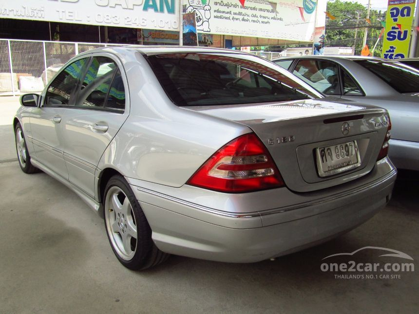 2005 Mercedes-Benz C180 Kompressor Elegance Sedan