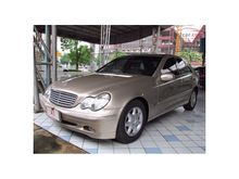 2003 Mercedes-Benz C180 Kompressor W203 (ปี 01-07) Elegance 1.8 AT Sedan