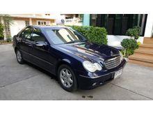 2001 Mercedes-Benz C180 Kompressor W203 (ปี 01-07) Elegance 2.0 AT Sedan