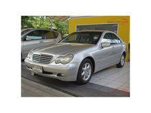 2004 Mercedes-Benz C180 Kompressor W203 (ปี 01-07) Elegance 1.8 AT Sedan