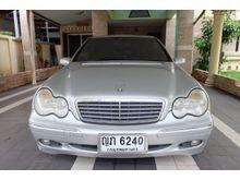 2002 Mercedes-Benz C180 Kompressor W203 (ปี 01-07) Elegance 2.0 AT Sedan