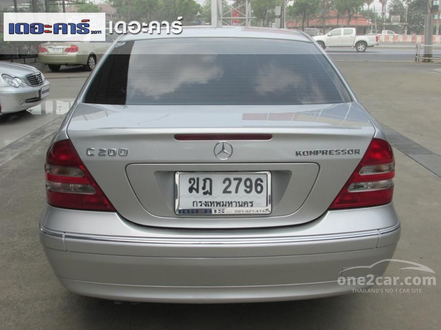 2002 Mercedes-Benz C180 Kompressor Elegance Sedan