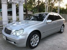 2004 Mercedes-Benz C180 Kompressor W203 (ปี 01-07) Elegance 1.8 AT Sedan