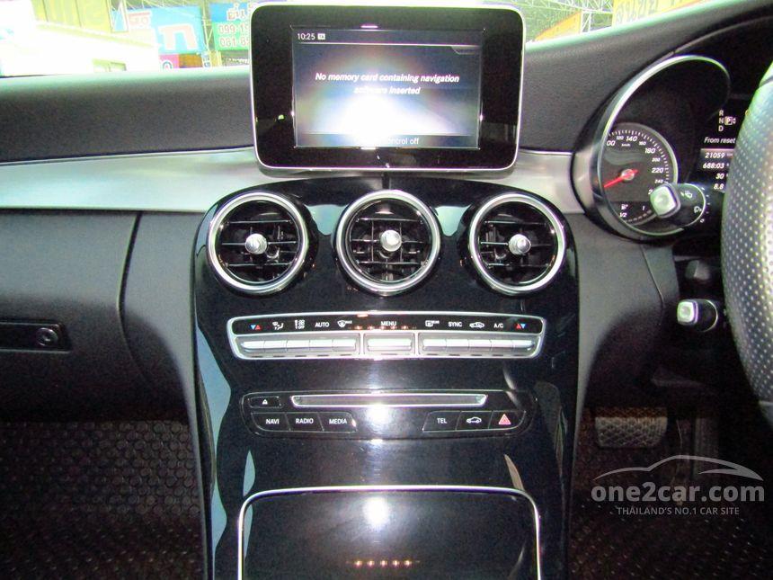 2015 Mercedes-Benz C180 Sedan