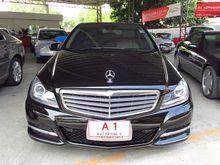 2012 Mercedes-Benz C200 BlueEFFICIENCY W204 (ปี 08-14) Elegance 1.8 Sedan