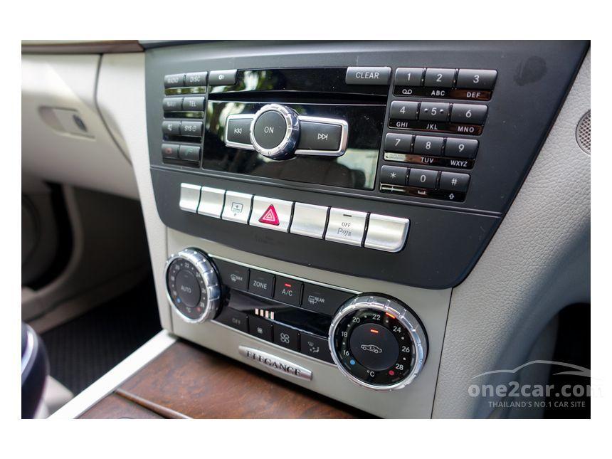 2012 Mercedes-Benz C200 Elegance Sedan