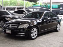 2011 Mercedes-Benz C200 CGI BlueEFFICIENCY W204 (ปี 08-14) Avantgarde 1.8 AT Sedan