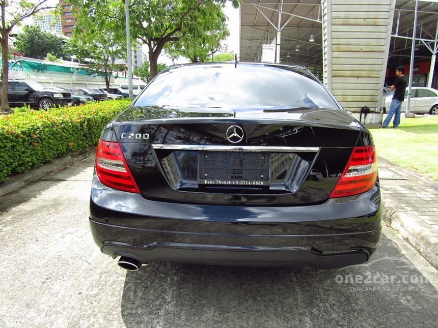 2013 Mercedes-Benz C200 CGI Sedan