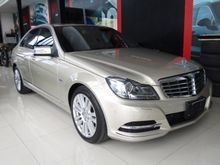 2012 Mercedes-Benz C200 BlueEFFICIENCY W204 (ปี 08-14) Elegance 1.8 AT Sedan