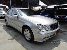 2004 Mercedes-Benz C200 Kompressor W203 (ปี 01-07) Avantgarde 2.0 AT Sedan