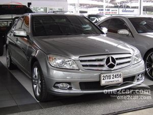 2008 Mercedes-Benz C200 Kompressor 1.8 W204 (ปี 08-14) Avantgarde Sedan AT