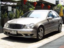 2004 Mercedes-Benz C200 Kompressor W203 (ปี 01-07) Avantgarde 1.8 AT Sedan
