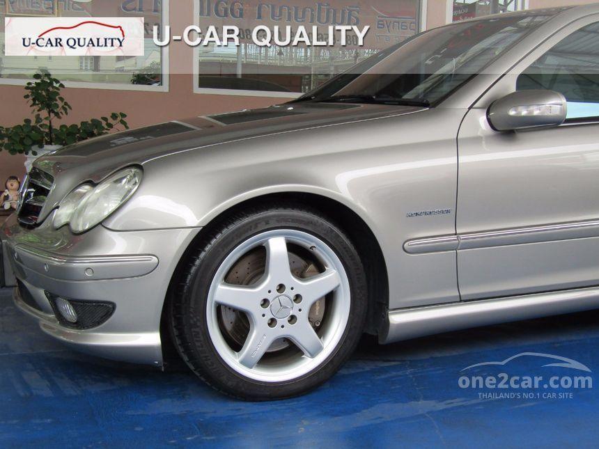 2004 Mercedes-Benz C200 Kompressor Avantgarde Sedan