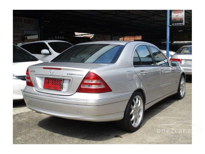 2001 Mercedes-Benz C200 Kompressor Avantgarde Sedan