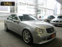 2001 Mercedes-Benz C200 Kompressor W203 (ปี 01-07) Avantgarde 2.0 AT Sedan