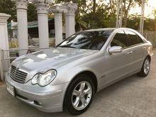 2004 Mercedes-Benz C200 Kompressor W203 (ปี 01-07) Elegance 1.8 AT Sedan