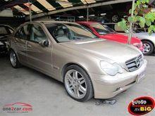2002 Mercedes-Benz C200 Kompressor W203 (ปี 01-07) ELEGANCE 2.0 AT Sedan
