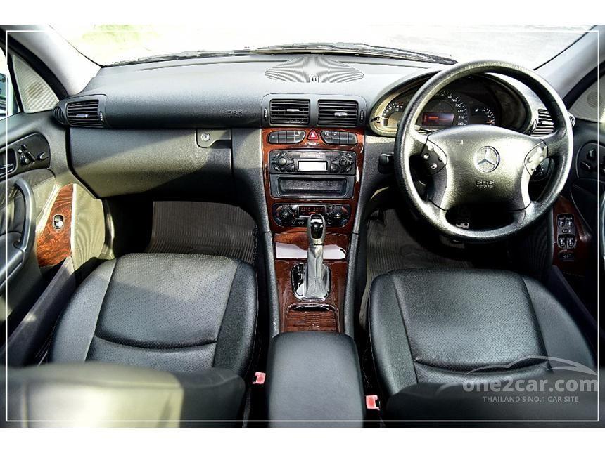 2001 Mercedes-Benz C200 Kompressor Elegance Sedan