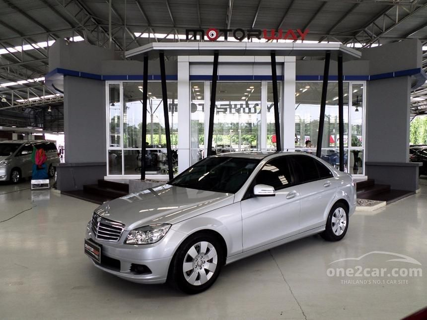 2010 Mercedes-Benz C200 Kompressor Elegance Sedan