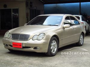 2002 Mercedes-Benz C200 Kompressor 2.0 W203 (ปี 01-07) Elegance Sedan AT