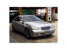 2003 Mercedes-Benz C200 Kompressor W203 (ปี 01-07) Elegance 2.0 AT Sedan