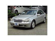 2002 Mercedes-Benz C200 Kompressor W203 (ปี 01-07) Elegance 2.0 Sedan