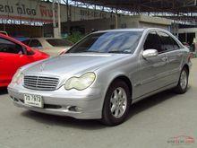 2001 Mercedes-Benz C200 Kompressor W203 (ปี 01-07) Elegance 2.0 AT Sedan