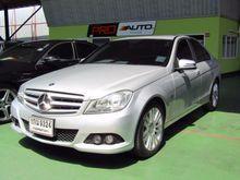2012 Mercedes-Benz C200 BlueEFFICIENCY W204 (ปี 08-14) 1.8 AT Sedan