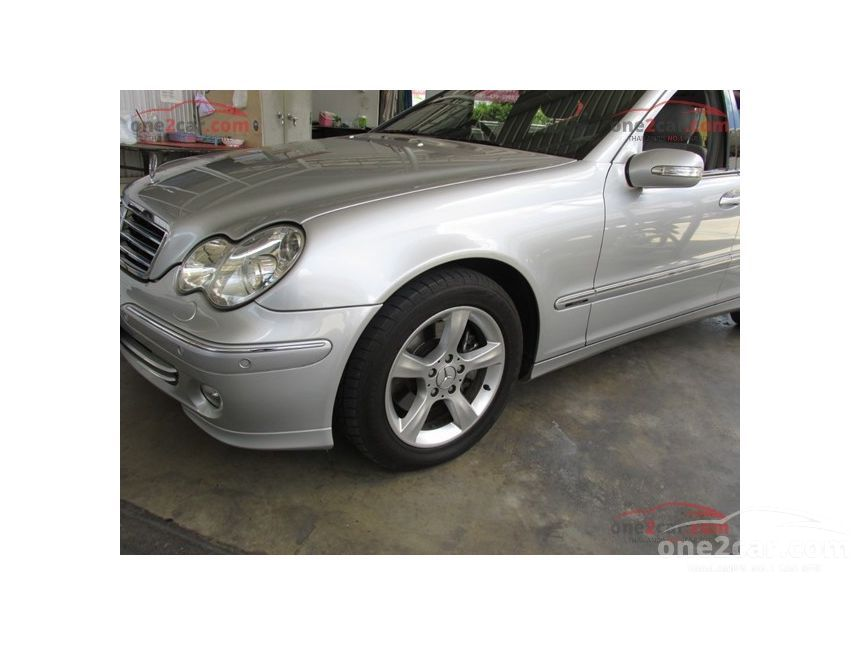 2005 Mercedes-Benz C230 Kompressor Avantgarde Sedan