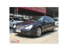 2003 Mercedes-Benz C230 Kompressor W203 (ปี 01-07) Sports 2.3 AT Coupe