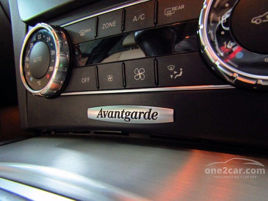2012 Mercedes-Benz C250 CDI Avantgarde Sedan