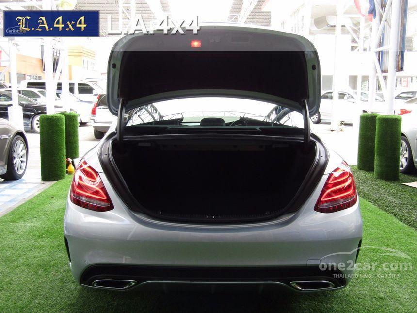 2015 Mercedes-Benz C300 Blue TEC HYBRID Sedan