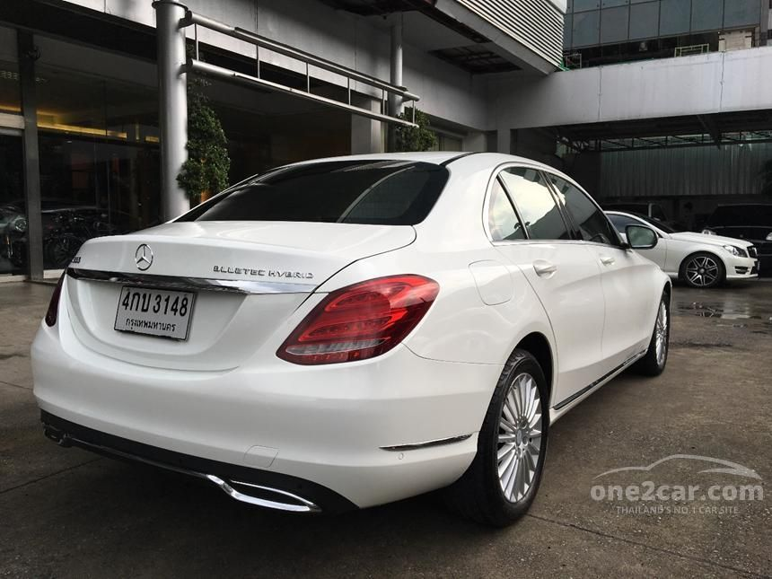 2015 Mercedes-Benz C300 Blue TEC HYBRID Sedan