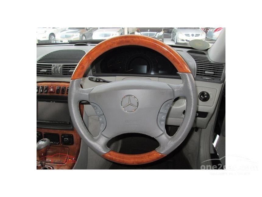 2002 Mercedes-Benz CL500 Coupe