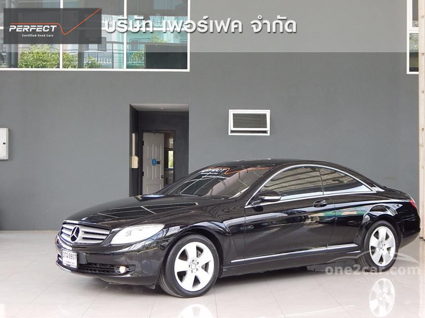 2010 Mercedes-Benz CL500 Coupe