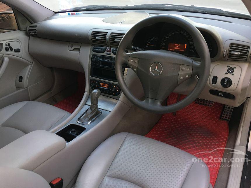 2002 Mercedes-Benz CLC200 Kompressor Sports Coupe
