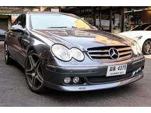 2004 Mercedes-Benz CLK200 Kompressor W209 (ปี 02-09) Elegance 1.8 AT Coupe