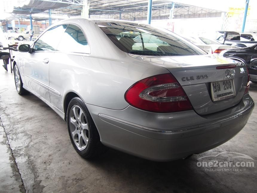 2004 Mercedes-Benz CLK200 Kompressor Elegance Coupe