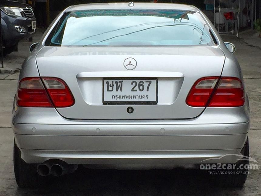 2002 Mercedes-Benz CLK230 Kompressor Coupe