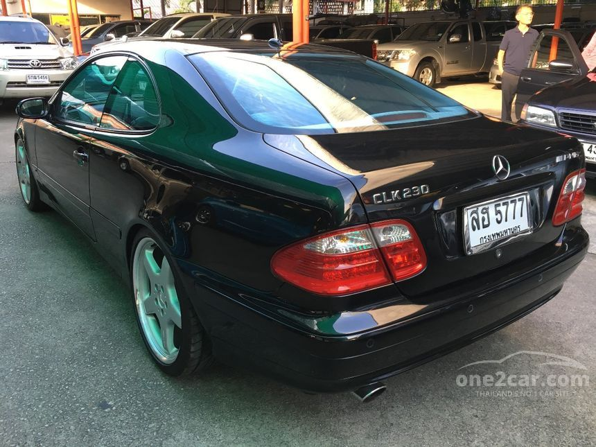 2001 Mercedes-Benz CLK230 Kompressor Coupe