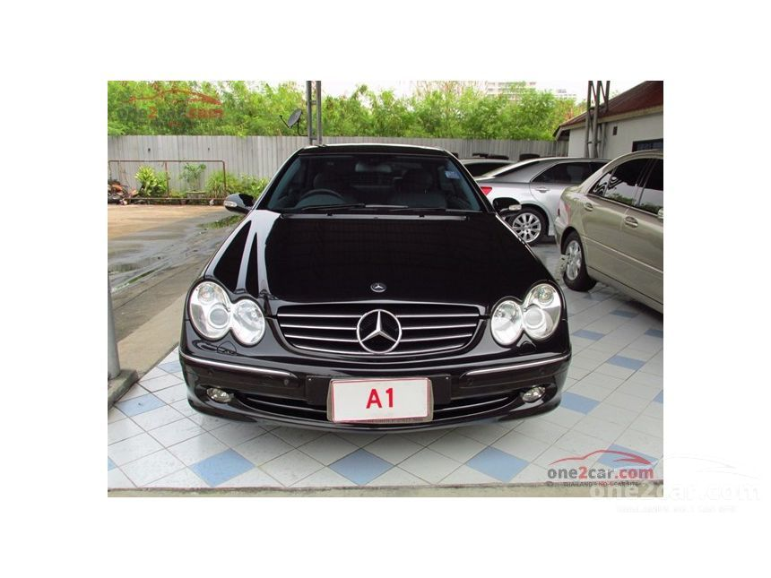 2004 Mercedes-Benz CLK240 Avantgarde Coupe