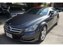 2012 Mercedes-Benz CLS250 CDI W218 (ปี 11-16) Avantgarde 2.1 AT Coupe