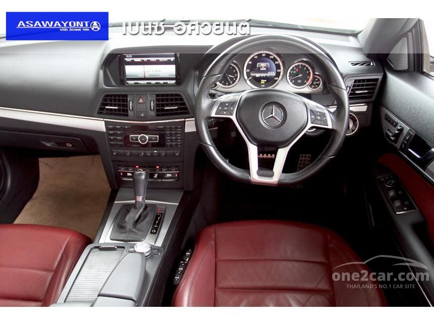 2013 Mercedes-Benz E200 AMG  Dynamic Cabriolet