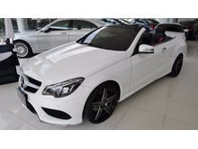 2015 Mercedes-Benz E200 W207 (ปี 10-16) AMG  Dynamic 2.0 AT Cabriolet