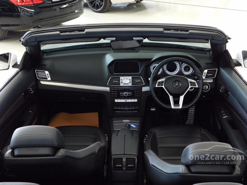 2014 Mercedes-Benz E200 AMG  Dynamic Cabriolet