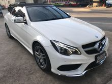 2014 Mercedes-Benz E200 W207 (ปี 10-16) AMG  Dynamic 2.0 AT Cabriolet