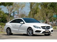 2015 Mercedes-Benz E200 W207 (ปี 10-16) AMG  Dynamic 2.0 AT Coupe