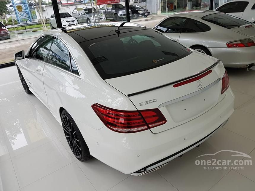 2015 Mercedes-Benz E200 AMG  Dynamic Coupe