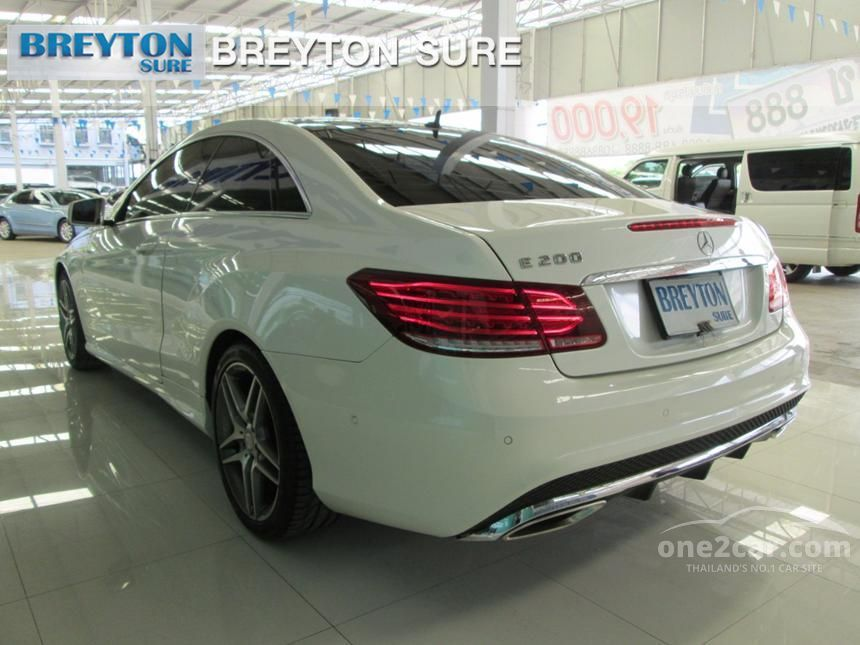 2014 Mercedes-Benz E200 AMG  Dynamic Coupe