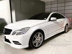 2013 Mercedes-Benz E200 2.0 W207 (ปี 10-16) AMG Dynamic Coupe AT